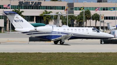 A picture of N117B - Cessna 525B CitationJet CJ3 - [525B0561] - © Brian T Richards