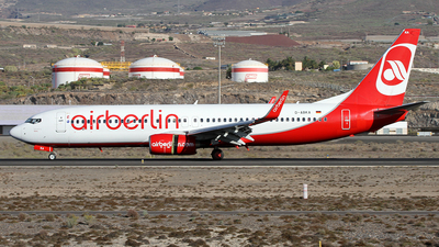 D-ABKA - Boeing 737-82R - Air Berlin
