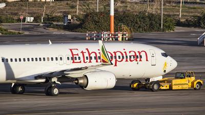 ET-ATV - Boeing 737-8Q8 - Ethiopian Airlines