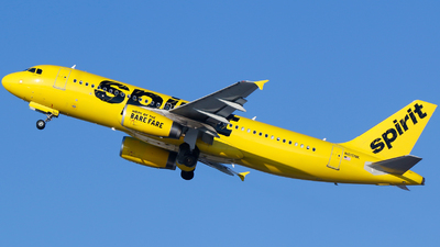 A picture of N615NK - Airbus A320232 - Spirit Airlines - © Alec Mollenhauer
