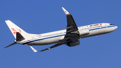 B-7893 - Boeing 737-89L - Air China
