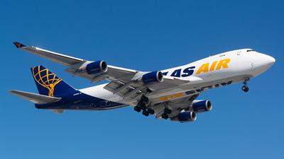 A picture of N498MC - Boeing 74747U(F) - Atlas Air - © John Newsome