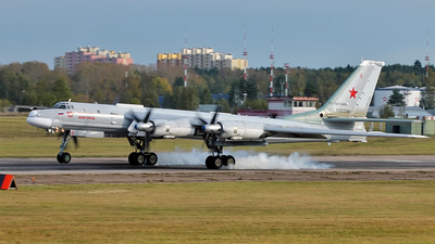 RF-94124 - Tupolev Tu-95MS Bear-H - Russia - Air Force