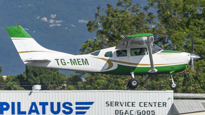 TG-MEM - Cessna TU206G Turbo Stationair - Private