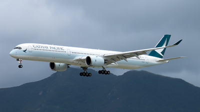 A picture of BLXH - Airbus A3501041 - Cathay Pacific - © Jayden Fu
