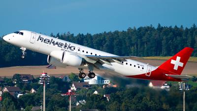 HB-AZC - Embraer 190-300STD - Helvetic Airways