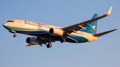 A picture of B1550 - Boeing 73785C - Xiamen Air - © Captain Lorca