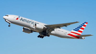 A picture of N792AN - Boeing 777223(ER) - American Airlines - © Valoy
