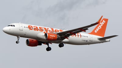 G-EZWL - Airbus A320-214 - easyJet