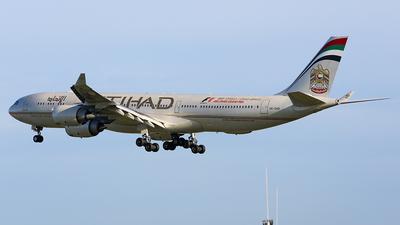 A6-EHD - Airbus A340-541 - Etihad Airways