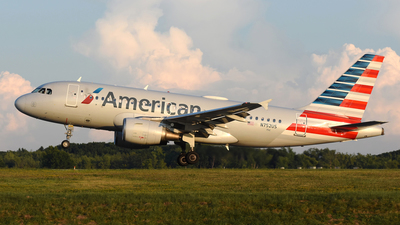 A picture of N752US - Airbus A319112 - American Airlines - © DJ Reed - OPShots Photo Team