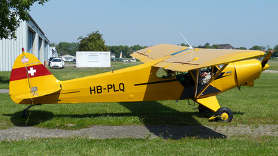 HB-PLQ - Piper PA-18-150 Super Cub - Motorfluggruppe Fricktal