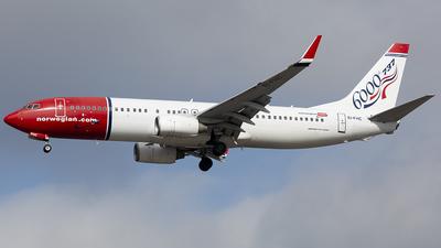 EI-FHC - Boeing 737-8Q8 - Norwegian