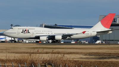 JA8077 - Boeing 747-446 - Japan Airlines (JAL)