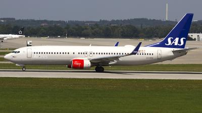 A picture of LNRRH - Boeing 737883 - SAS - © Stefan von der Mühlen