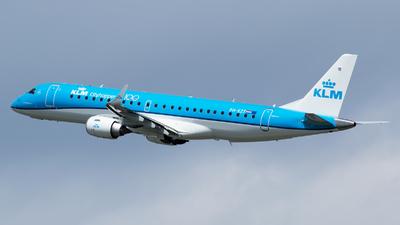 A picture of PHEZT - Embraer E190STD - KLM - © RAFAL KUKOWSKI