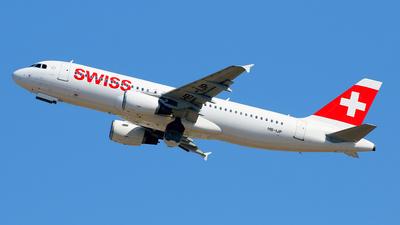 A picture of HBIJP - Airbus A320214 - Swiss - © Javier Rodriguez - Amics de Son Sant Joan