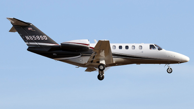 N858SD - Cessna 525 Citation CJ2 - Private