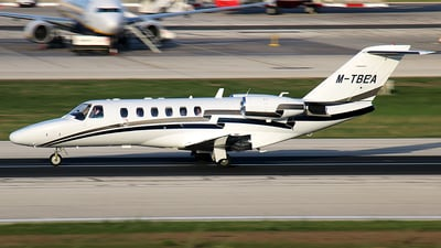 M-TBEA - Cessna 525 Citation CJ2 - Private