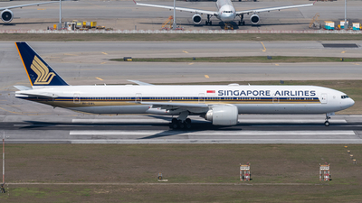 A picture of 9VSWL - Boeing 777312(ER) - Singapore Airlines - © JASONChow