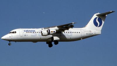OO-DWH - British Aerospace Avro RJ100 - Sabena