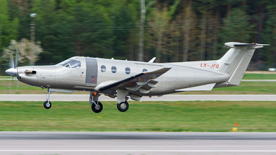 LX-JFQ - Pilatus PC-12/47 - Jetfly Aviation