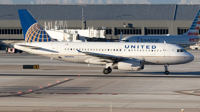 A picture of N834UA - Airbus A319131 - United Airlines - © Felipe García