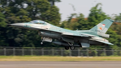 TS-1642 - Lockheed Martin F-16C Fighting Falcon - Indonesia - Air Force