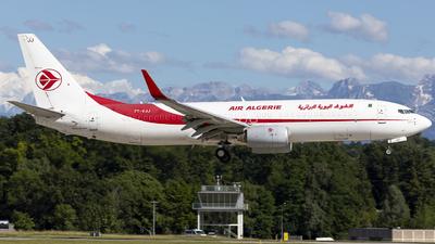 A picture of 7TVJJ - Boeing 7378D6(BCF) - Air Algerie - © Dranob