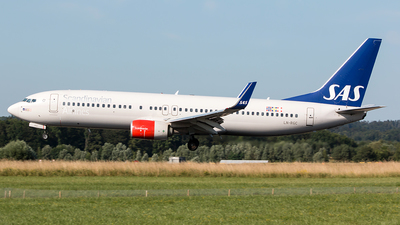 LN-RGC - Boeing 737-86N - Scandinavian Airlines (SAS)