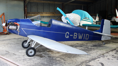 G-BWID - Druine DR.31 Turbulent - Private