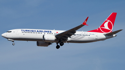 A picture of TCLCL - Boeing 737 MAX 8 - Turkish Airlines - © Martin O.