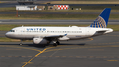 A picture of N830UA - Airbus A319131 - United Airlines - © Bora Polater