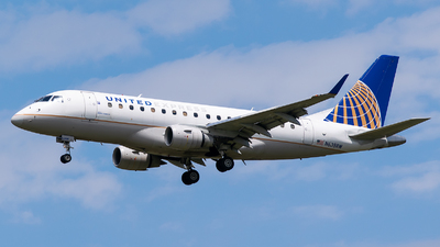 A picture of N638RW - Embraer E170SE - United Airlines - © Evan Dougherty