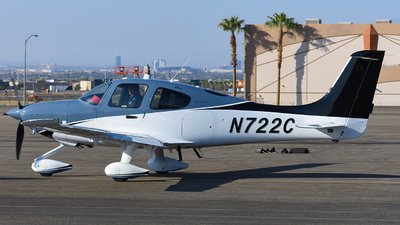 N722C - Cirrus SR22T - Private