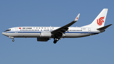 B-6497 - Boeing 737-89L - Air China
