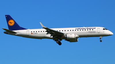 D-AECG - Embraer 190-100LR - Lufthansa Regional (CityLine)