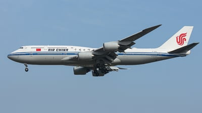 A picture of B2482 - Boeing 74789L - Air China - © Northrop_L