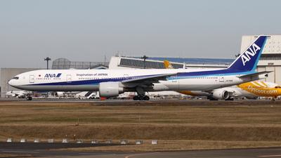 A picture of JA736A - Boeing 777381(ER) - All Nippon Airways - © Yoshiharu Ozaki