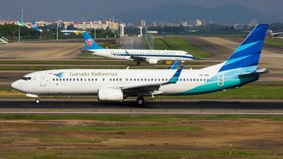 PK-GNI - Boeing 737-86N - Garuda Indonesia