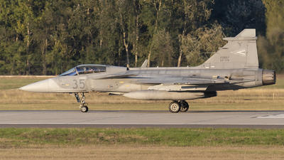 35 - Saab JAS-39C Gripen - Hungary - Air Force