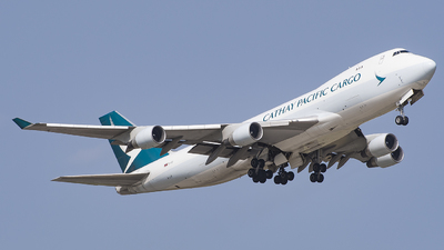 B-LIF - Boeing 747-467ERF - Cathay Pacific Cargo