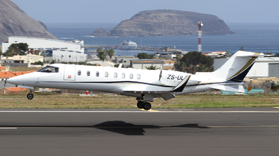 ZS-ULT - Bombardier Learjet 45 - Private