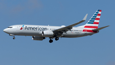 A picture of N974AN - Boeing 737823 - American Airlines - © Yixin Chen