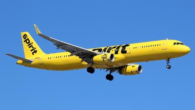 N661NK - Airbus A321-231 - Spirit Airlines