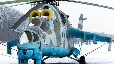 024 - Mil Mi-24D Hind D - Poland - Army