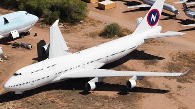 5N-MDK - Boeing 747-422 - Kabo Air