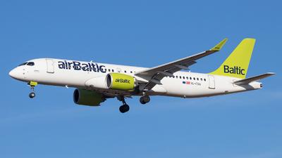 YL-CSG - Airbus A220-300 - Air Baltic