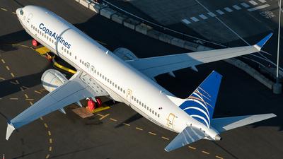A picture of HP9907CMP - Boeing 737 MAX 9 - Copa Airlines - © Daniel Dominguez