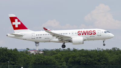 A picture of HBJBB - Airbus A220100 - Swiss - © AvA